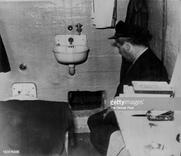 JUN 14 1962 DEC 5 1993 Where Alcatraz Prison break started A prison guard kneels by hole in Frank Morris cell through which he and John and Clarence...