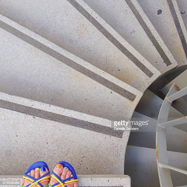 """pov: where are your feet? - """"danielle donders"""" stock pictures, royalty-free photos & images"""