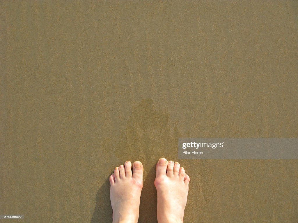 POV: Where are your feet? : Stock Photo