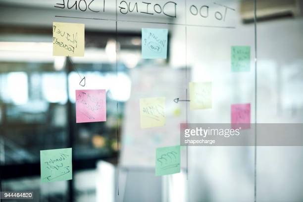 where brainstorming brilliance happens - adhesive note stock pictures, royalty-free photos & images