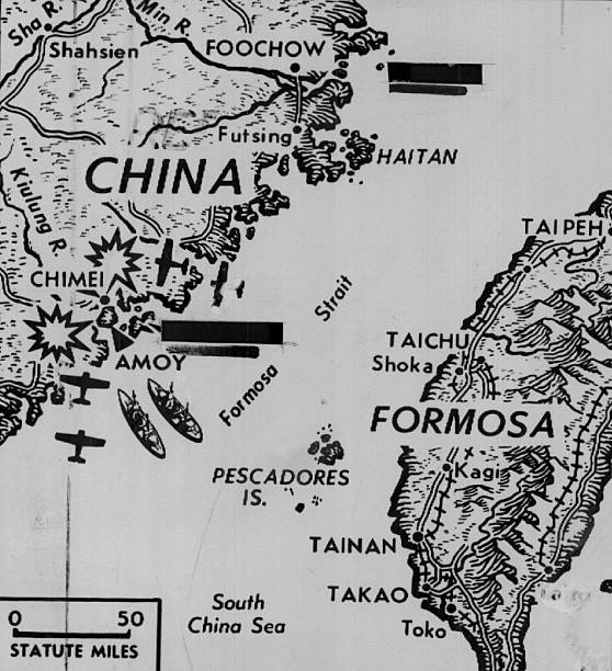 9 1 1954 Aug 11 1958 Where Chinese Strike Back At Reds Plane And