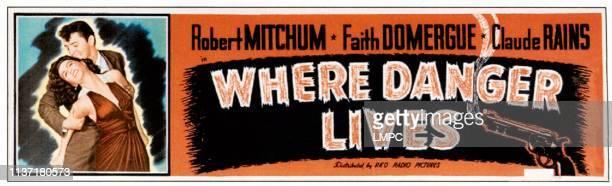 Faith Domergue Robert Mitchum 1950