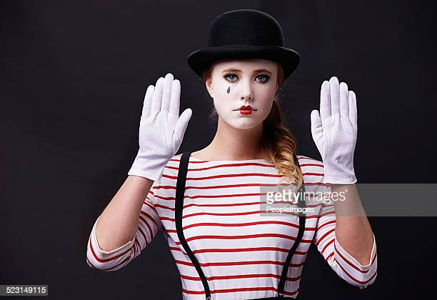 where is this wall? - sad clown stock photos and pictures