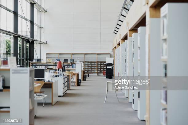 知識が見つかった場所 - 図書館 ストックフォトと画像