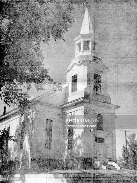 Where Oh Where This is a 1960 file photo of the First United Methodist Church in the Brown's Hill section of South Portland The church was...