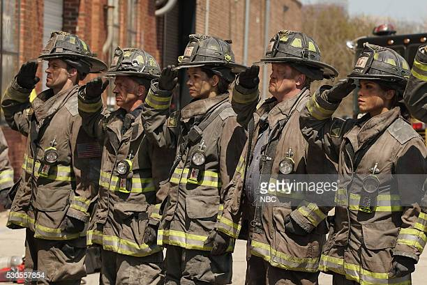 FIRE 'Where the Collapse Started' Episode 422 Pictured Jesse Spencer as Lt Matthew Casey David Eigenberg as Christopher Herrmann Mirana Rae Mayo as...