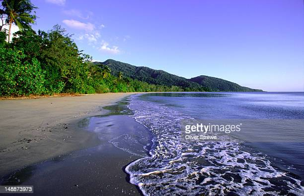 Where the Daintree National Park meets the ocean, Cape York Peninsula