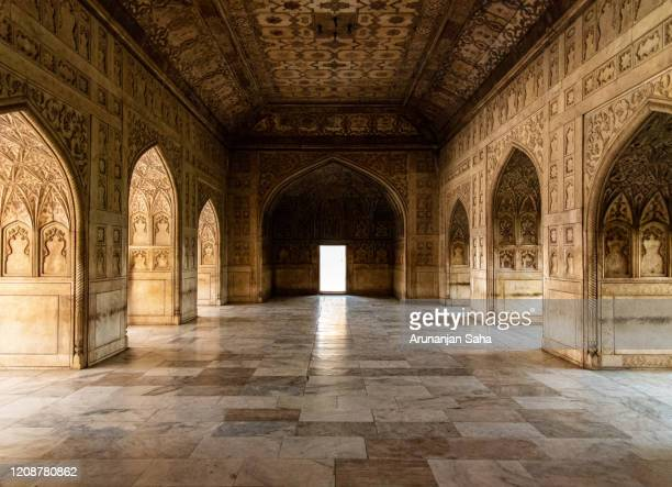 where the mughals stayed in agra fort 2: marvels of agra - fatehpur sikri stock pictures, royalty-free photos & images