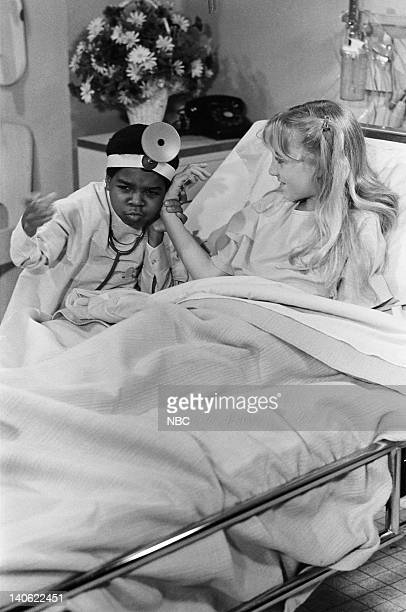 RENT STROKES Where There's Hope Episode 16 Pictured Gary Coleman as Arnold Jackson Monika Furness as Susie Moore Photo by Paul Drinkwater/NBC/NBCU...