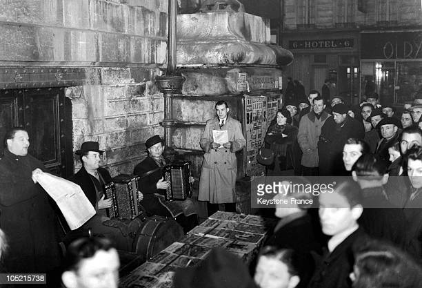 Where They Sing Listen And Buy The Song On The Boulevard De La Chapelle In Paris May 20 1947