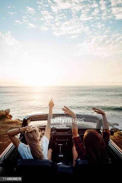 dove ti porterà quest'estate? - viaggio in macchina foto e immagini stock