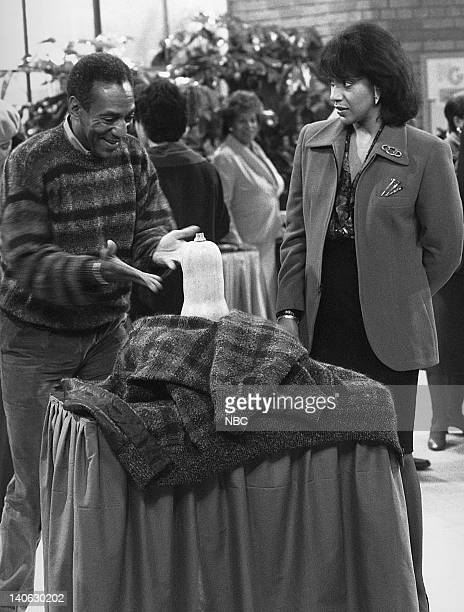 """Where's Rudy?"""" Episode 10 -- Pictured: Bill Cosby as Dr. Heathcliff 'Cliff' Huxtable, Phylicia Rashad as Clair Hanks Huxtable -- Photo by: NBCU Photo..."""