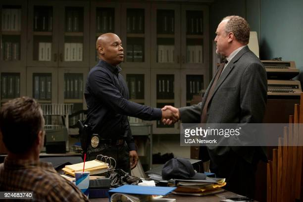 G 'Wherever It Leads' Episode 101 Pictured Bokeem Woodbine as Detective Dayrn Dupree Brent Sexton as Detective Brian Tyndall