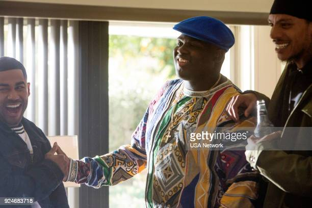 G 'Wherever It Leads' Episode 101 Pictured Wavyy Jonez as Christopher 'Biggie Smalls' Wallace