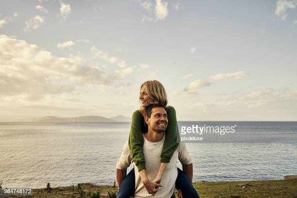 wherever we go, we always go together - coastline stock pictures, royalty-free photos & images