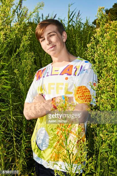 DJ Whethan are photographed for Billboard Magazine on August 20 2017 at the Billboard Hot 100 Music Festival at Northwell Heath at Jones Beach...
