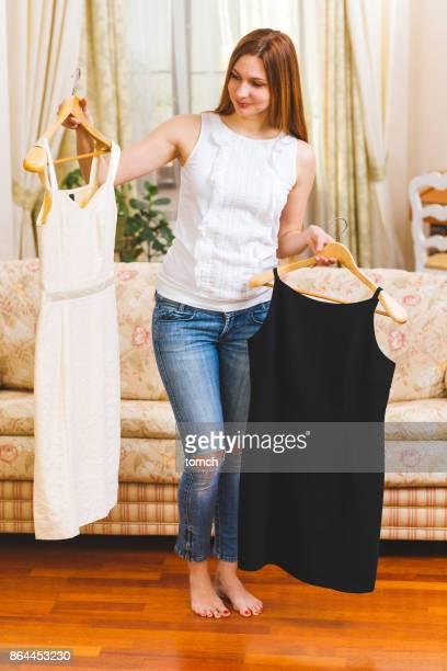 Das Kleid auswählen?