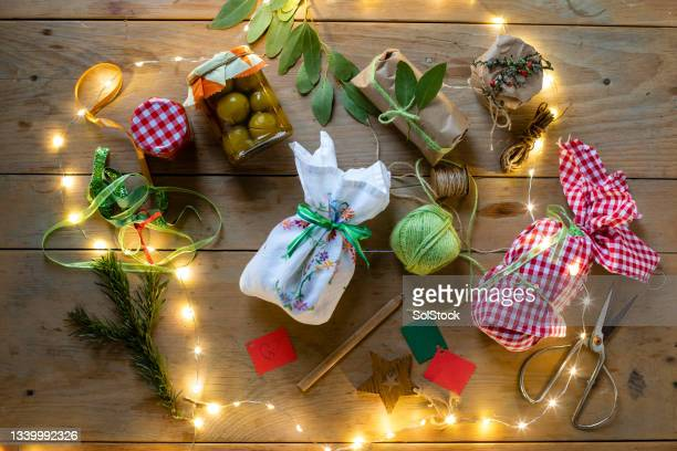 which present is for me? - needlecraft stock pictures, royalty-free photos & images