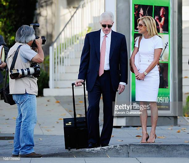 While being photographed Jamie McCourt arrives with her attorney Dennis Wasser for a nonjury divorce trial at Los Angeles County Court August 30 2010...