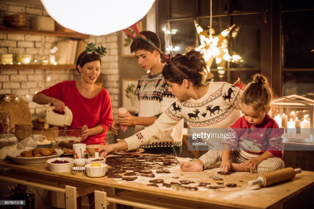 While expecting Christmas : Stock Photo