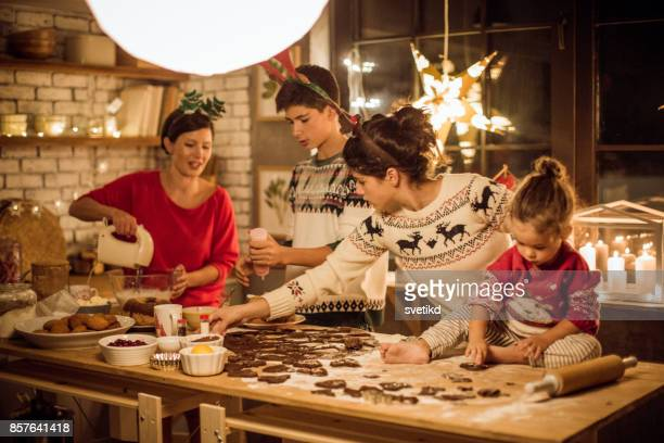 while expecting christmas - christmas dinner stock photos and pictures