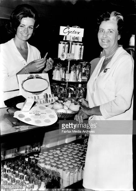 While Margaret was demonstrating at the David Jones store she was visited by her mother who was down from the country and was most interested in the...