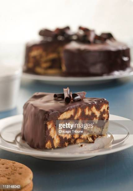 While much of the royal wedding is secret it is known that two types of cakes will be served including a dark chocolate biscuit cake