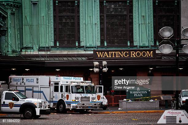 While PATH trains and ferries were running the main terminal for New Jersey Transit trains remained closed at Hoboken Rail Station September 30 2016...
