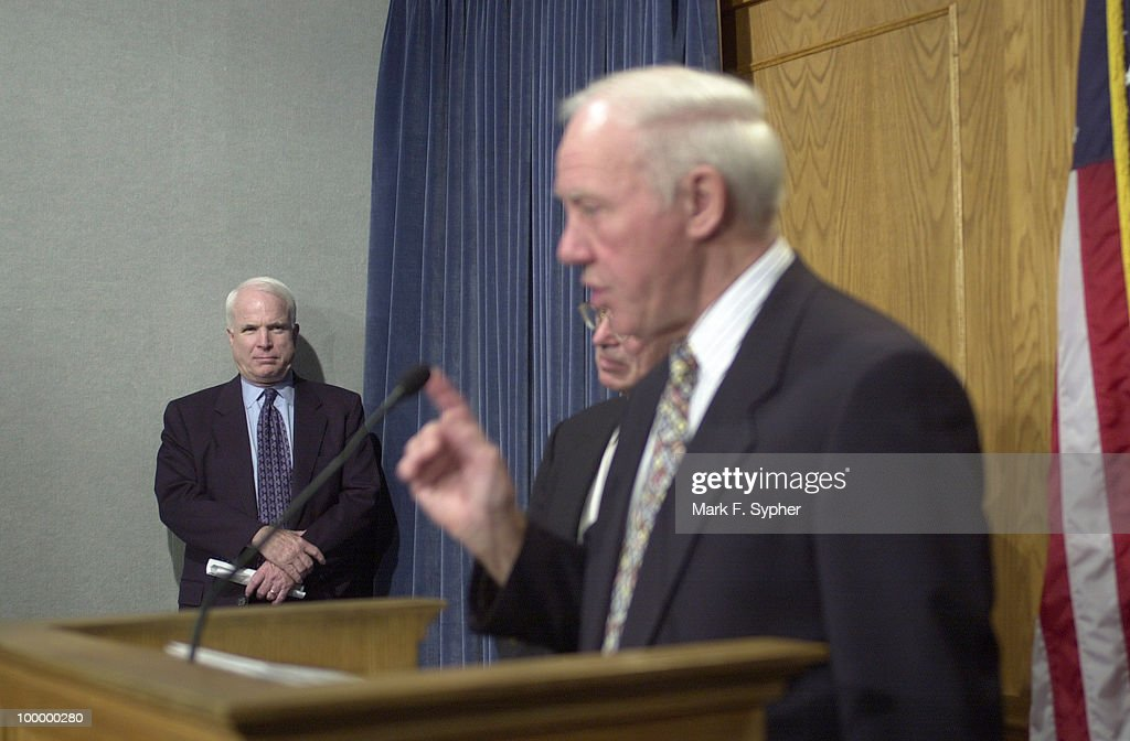 While Rep. James L. Oberstar (D-MN) berates members of the press, Senator Jonh McCain (R-AZ) stands alone in the corner of this bypartisan movement.