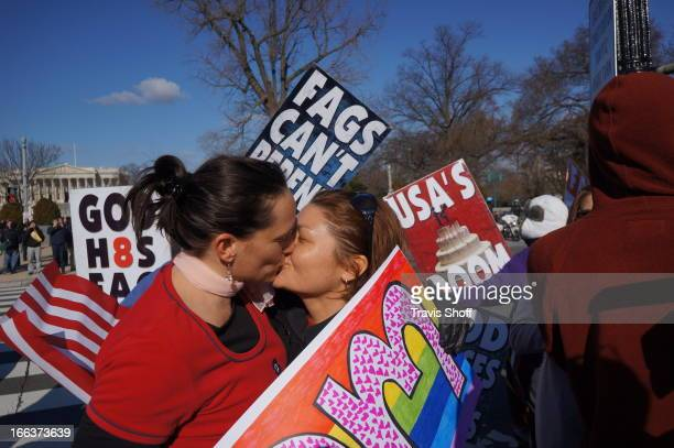 While SCOTUS decides on Doma Marriage Equality Supporter Rally outside