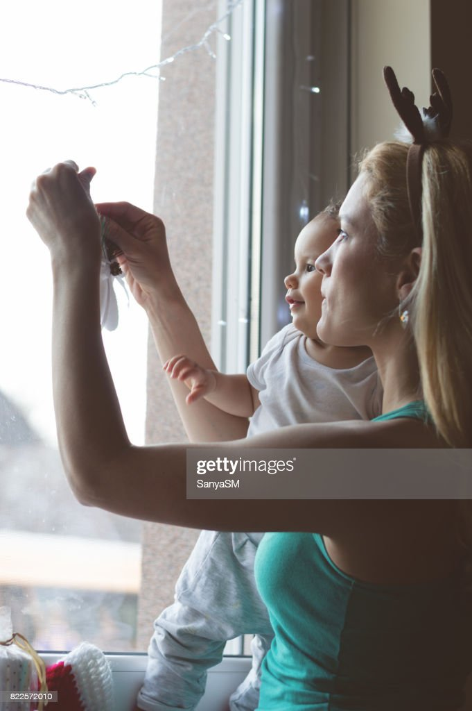 While waiting for Santa Claus : Stock Photo