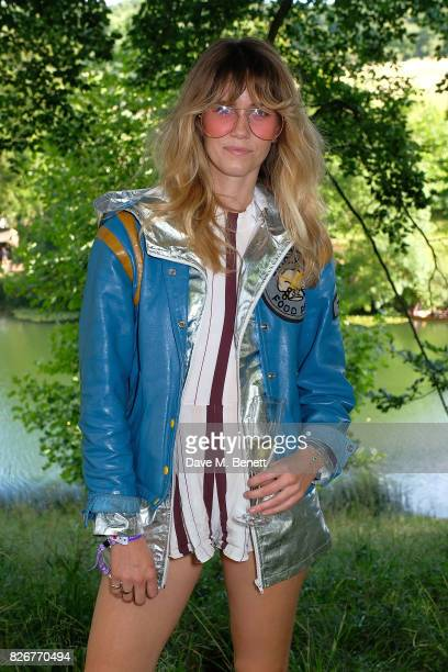 Whinnie Williams at the Veuve Clicquot Champagne Bar Wilderness Festival on August 5 2017 in UNSPECIFIED United Kingdom