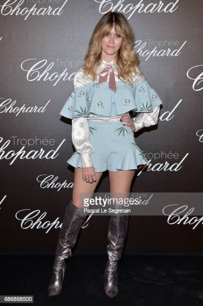 Whinnie Williams attends the Chopard Trophy photocall at Hotel Martinez on May 22 2017 in