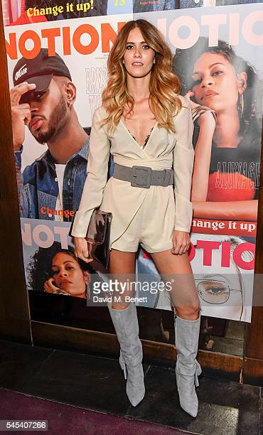 Whinnie Williams attends the Notion Magazine issue 73 launch party at The Cuckoo Club on July 7 2016 in London England