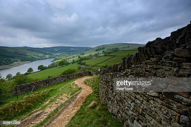 whinstone lee tor - south yorkshire stock pictures, royalty-free photos & images