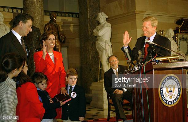 WHIPNancy Pelosi DCalif is sworn in as the new House Minority Whip by House Minority Leader Richard A Gephardt DMo Outgoing House Minority Whip David...