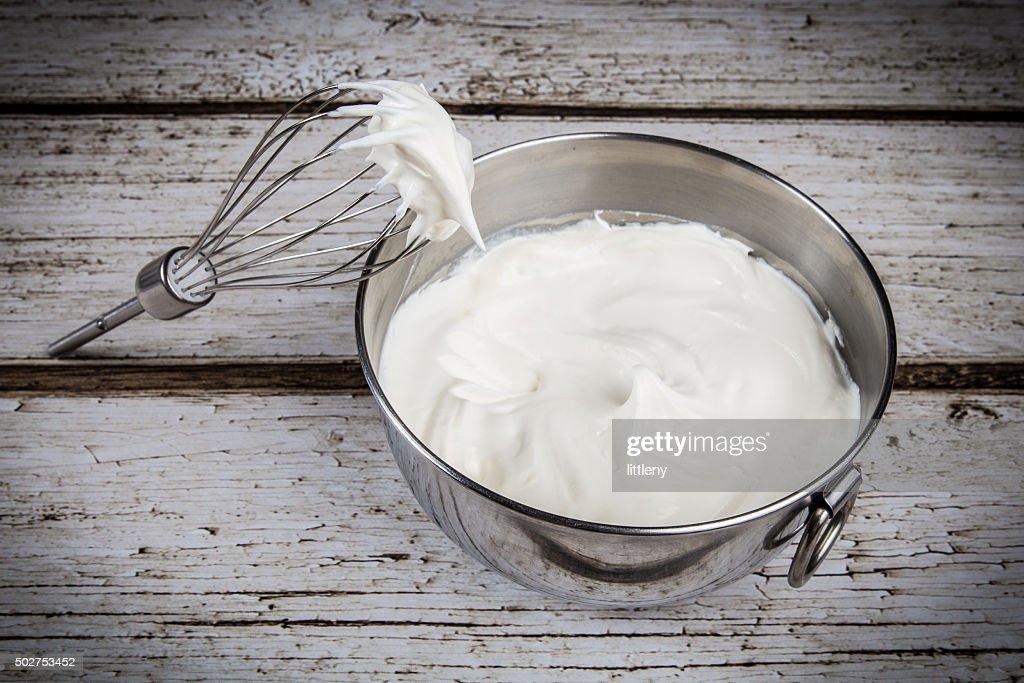 Whipped Cream : Stock Photo