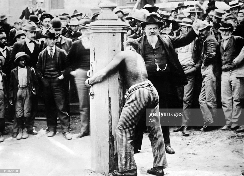 Whipping post, Delaware, USA, c. 1920.