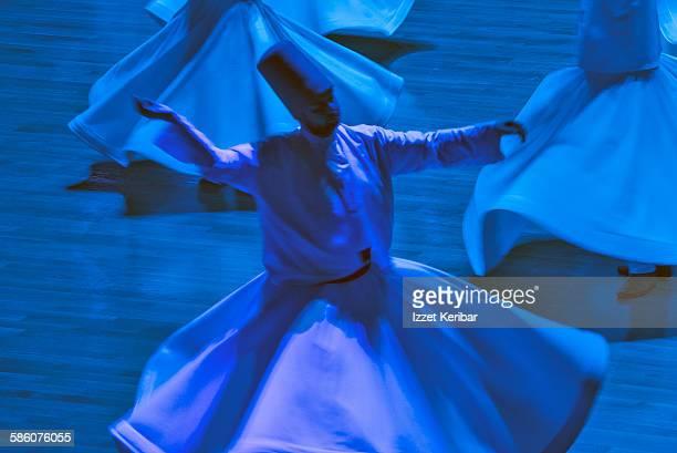 Whirling dervish at Konya Mevlana Cultural Center