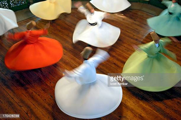 Whirling Dervishes perform The Sema Ritual