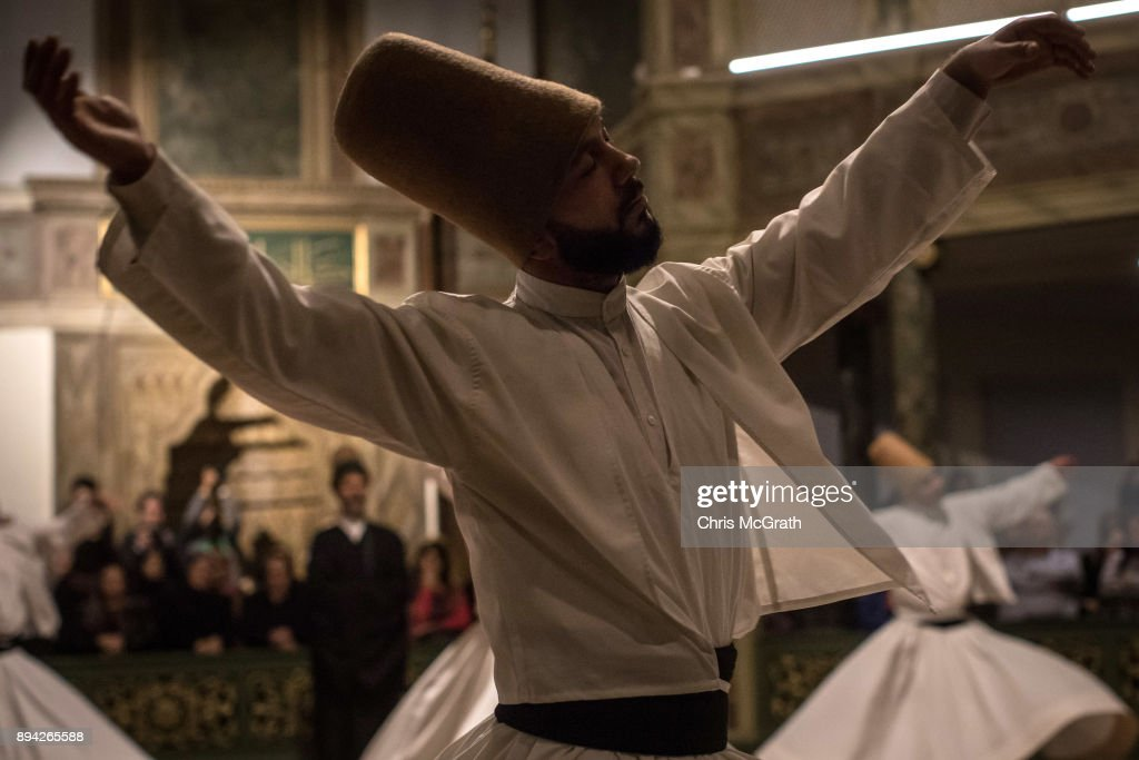 Pilgrims Commemorate The Anniversary Of The Death of Sufi Founder Mevlana Rumi In Istanbul