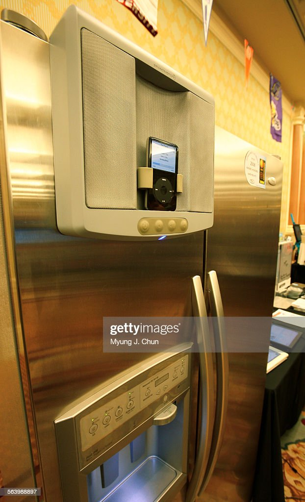 a whirlpool centralpark refrigerator offers a dedicated attachment rh gettyimages fr