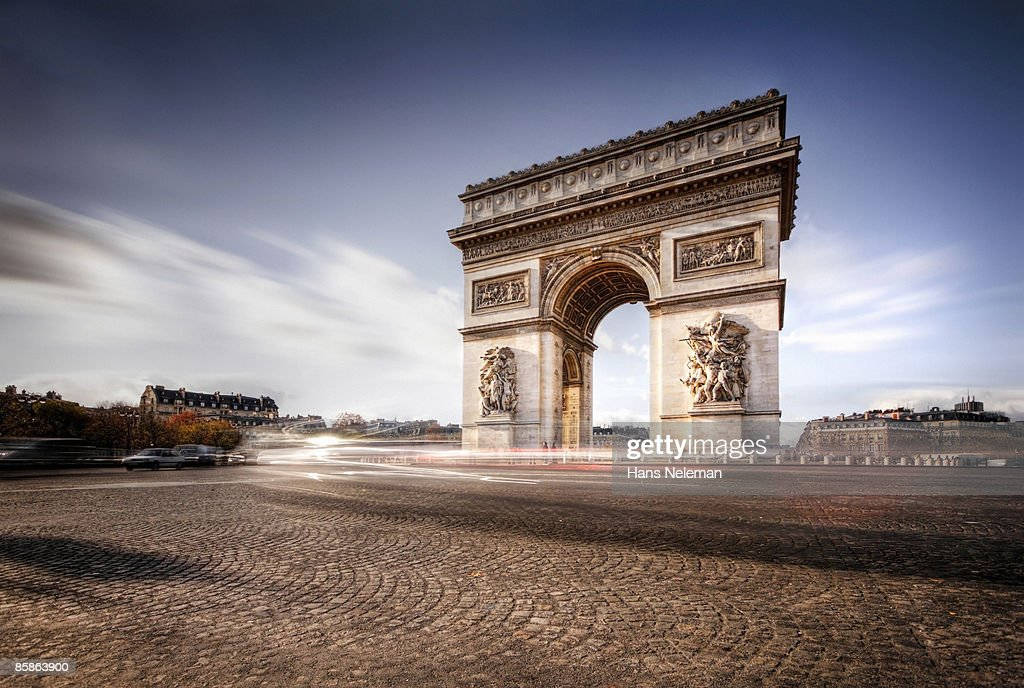 whirlwind, A study of motion, Arc de Triomphe : Stock-Foto