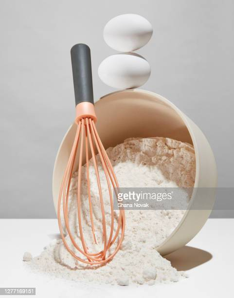 "whisk eggs and flour recipe - ""shana novak"" stock pictures, royalty-free photos & images"