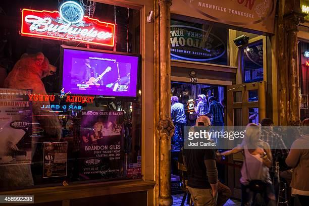 Whiskey Bent Saloon in Nashville, Tennessee