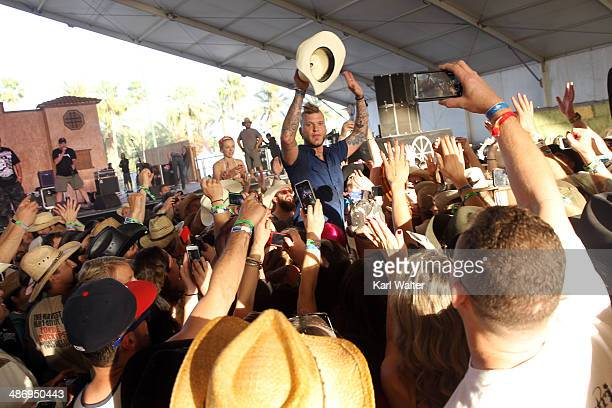 Whiskey Shivers perform onstage during day 2 of 2014 Stagecoach: California's Country Music Festival at the Empire Polo Club on April 26, 2014 in...