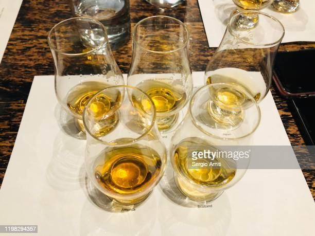 whiskey tasting - bourbon whiskey stock pictures, royalty-free photos & images