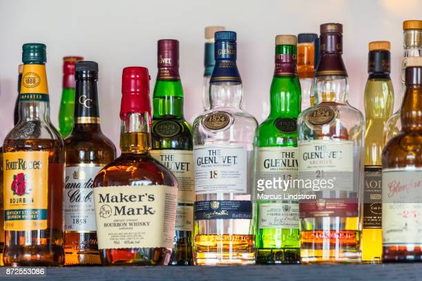 Whiskies and bourbons