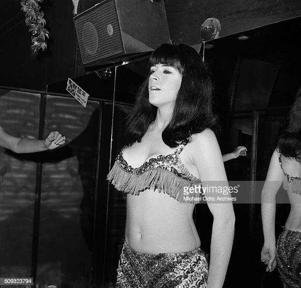 Whisky a Go Go dancers perform during a Frank Zappa Concert called a 'Freak Out' at Whisky a Go Go in Los AngelesCalifornia'n 'n