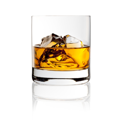 Whisky On The Rocks - Drink with Ice 155149482